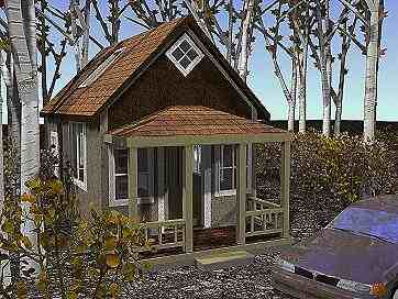 Plans for Simple cabin plans 24 by 24