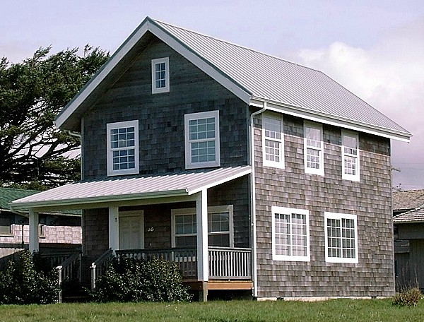 20' wide 2-story Universal Cottage