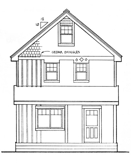 20 39 wide easy to customize home cottage or cabin plans Universal house plans