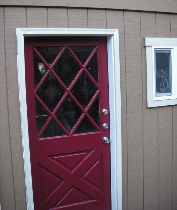 9 Lite Crossbuck Door : Crossbuck exterior door afol new design