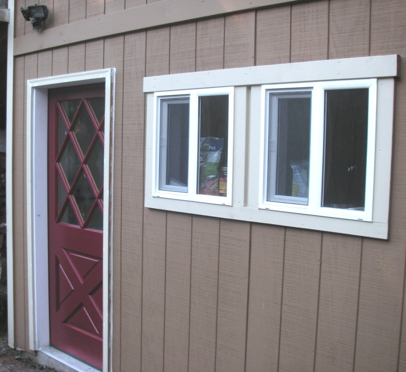 window trim with T1-11