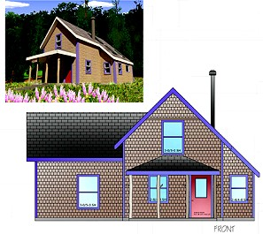 Maine cottage plans unique house plans for Maine cottage house plans