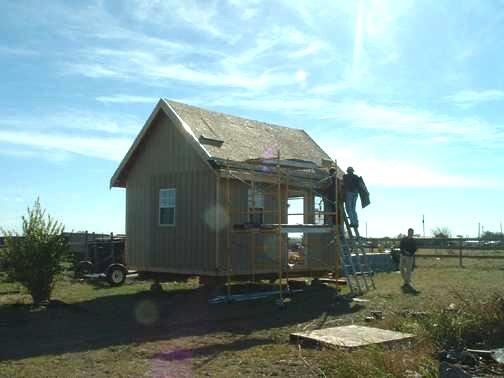 12 x 18 owner-built Cabin or Storage shed
