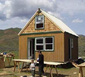 small cabin that can be expanded