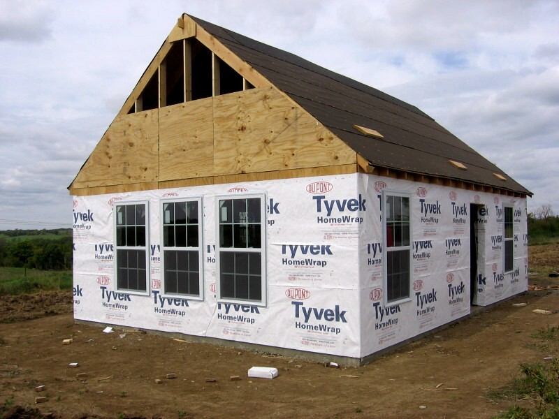 owner-built panelized house