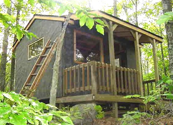 owner-built cabin