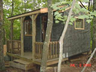 owner built cabin