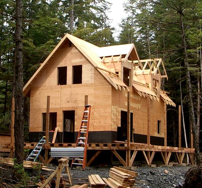 20 39 wide 1 1 2 story cottage in alaska Country plans owner builder