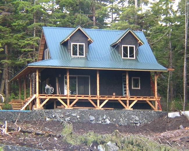 20 39 wide 1 1 2 story cottage in alaska for House plans 1 1 2 story