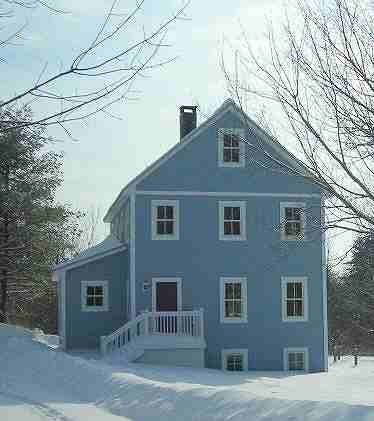 2 story 24x32 superinsulated cottage for Maine cottage house plans
