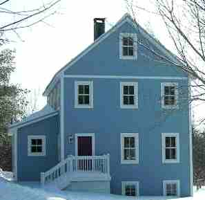 2 story universal cottage in Maine