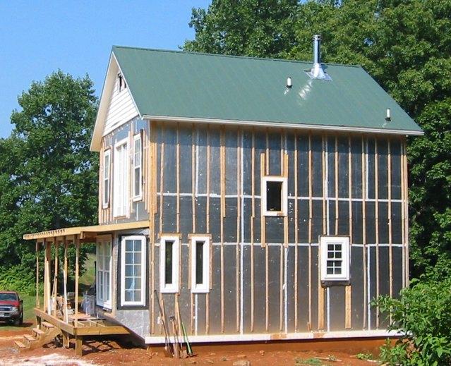 20 X 24 2 Story Cabin W/ Foam Insulation