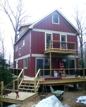 2 story cottage w/ pier foundation