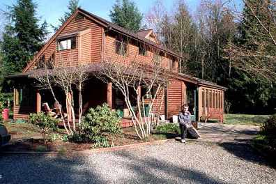 The Whidbey house a solar saltbox