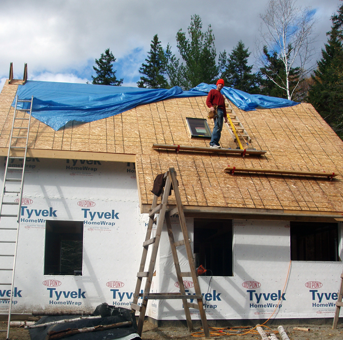 steep roof work
