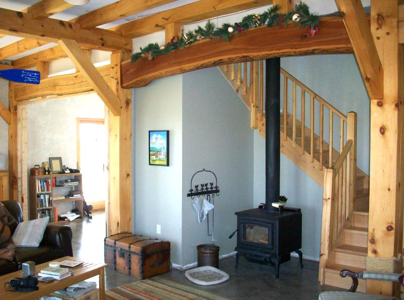 stair in timber frame