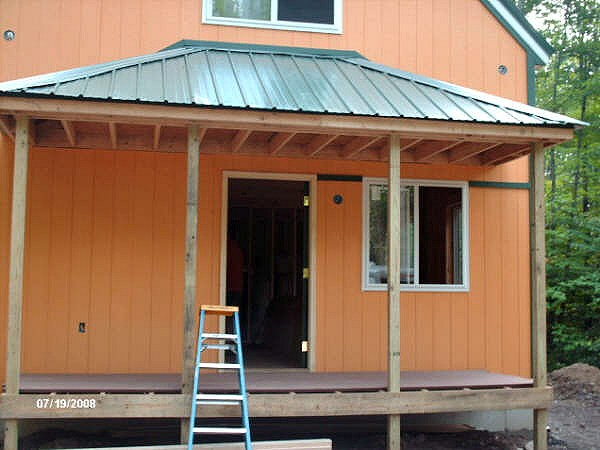Roof Design Ideas: 1-1/2 Story 20x34 Cabin
