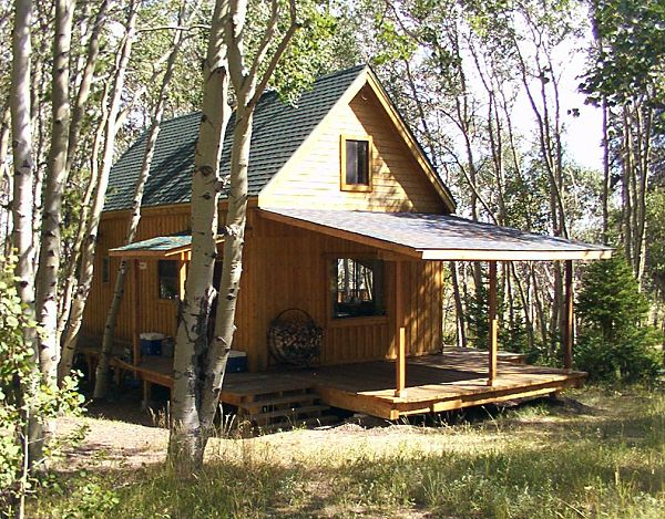14 x 24 owner built cabin Country plans owner builder