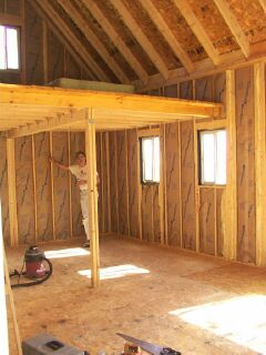 Woodwork cabin plans loft small pdf plans for Free small cabin plans with loft