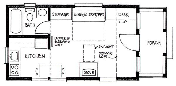 Cabin Floor Plans with Loft