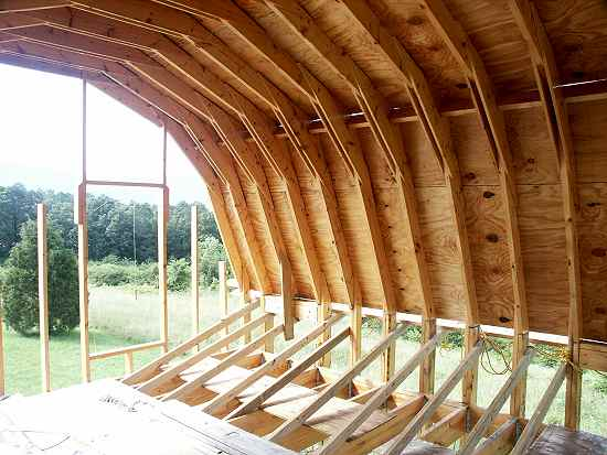 Site Built Gambrel Roof Cottage