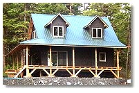20' wide 1-1/2 story cottage home in Alaska