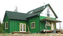 16' cottage home plan with 12' wide house addition