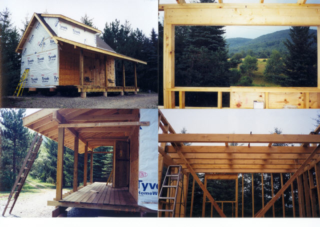 16x24 post and pier cabin for Simple cabin plans 24 by 24